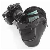 Opteka SLR & DSLR Camera Short Zoom Holster Case w/Adjustable Shoulder Strap