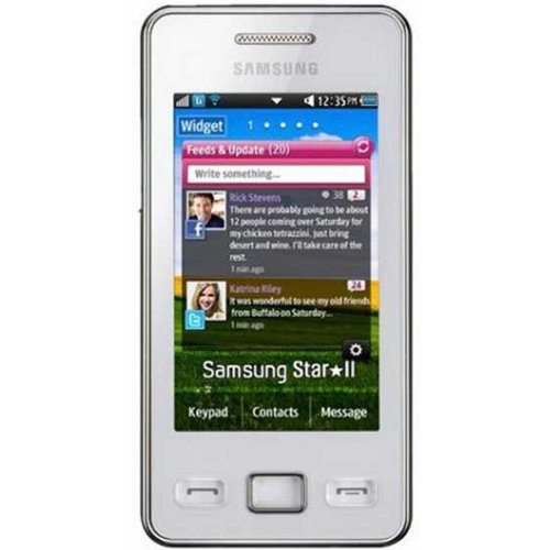 Samsung SA-S5260WESP Cellphone - Unlocked Phone - US Warranty - White